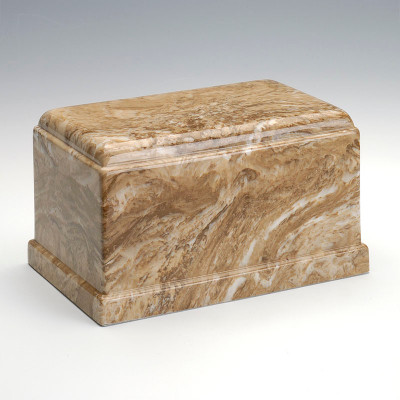 Olympus Cultured Marble Urn in Syrocco