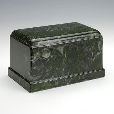 Olympus Cultured Marble Urn in Verde
