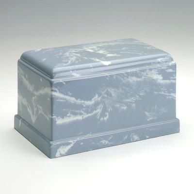 Olympus Cultured Marble Urn in Wedgewood