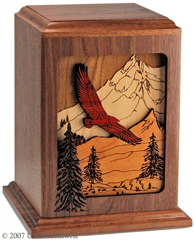 Soaring Eagle Cremation Urn