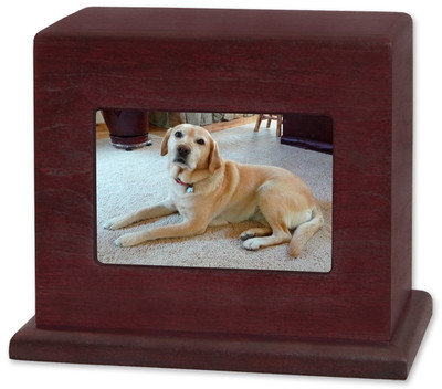 Photo Display Pet Urn - Horizontal