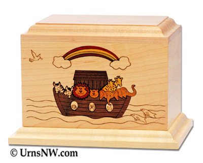 Noah's Ark Child or Infant Urn