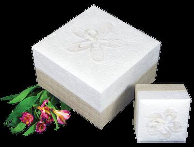 Embrace Earthurn Biodegradable Urn - White Hemp