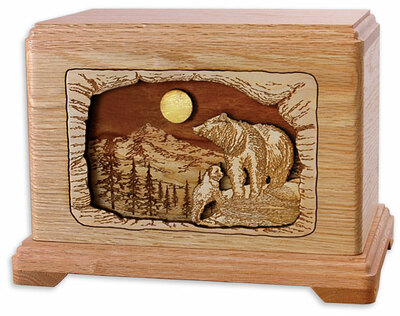 Bear Cremation Urn | High Country Haven