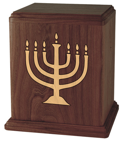 Menorah Cremation Urn