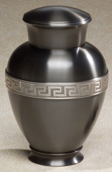 Metal Cremation Urn - Zeus Urn for Ashes