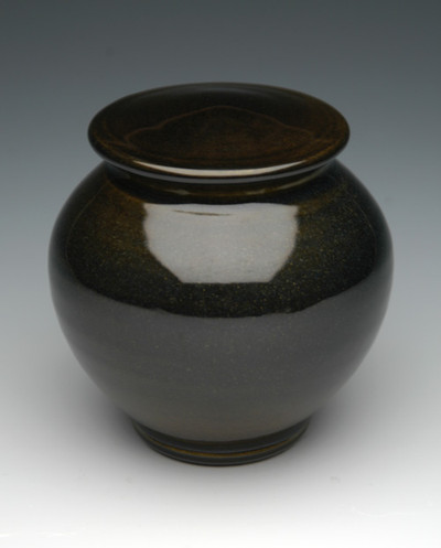 Ruby Black Ceramic Urn | Pottery Urns for Ashes