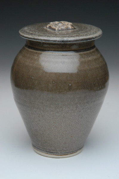 Mousse Brown Ceramic Urn | Ceramic Burial Urns