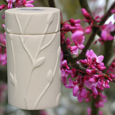 Eastern Red Bud Memorial Tree Urn