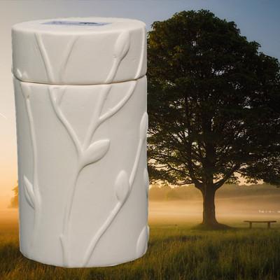 Oak Memorial Tree Urn