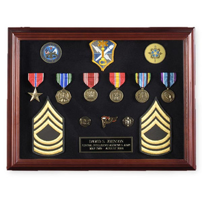 Military Display Case - Horizontal