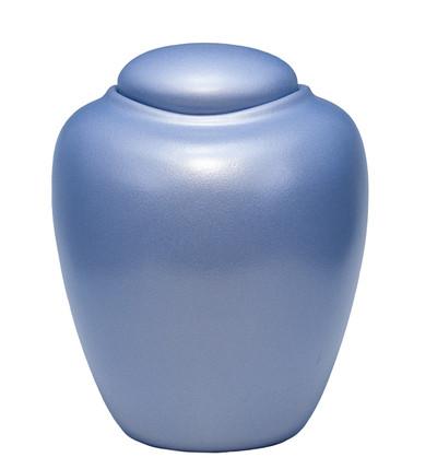 Sand & Gelatin Burial Urn - Aqua Blue