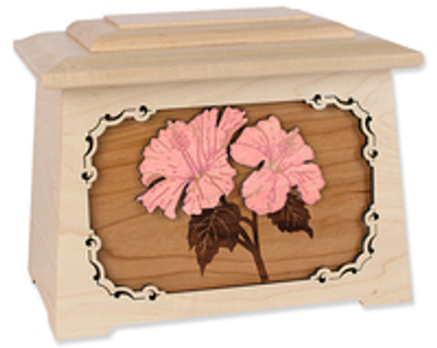 New Designs in Our 3-Dimensional Wood Art Cremation Urns Collection
