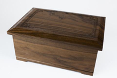 The Beauty of a Walnut Wood Cremation Urn Memorial