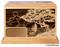 Laser Engraved Wooden Keepsake Urn - Seascape
