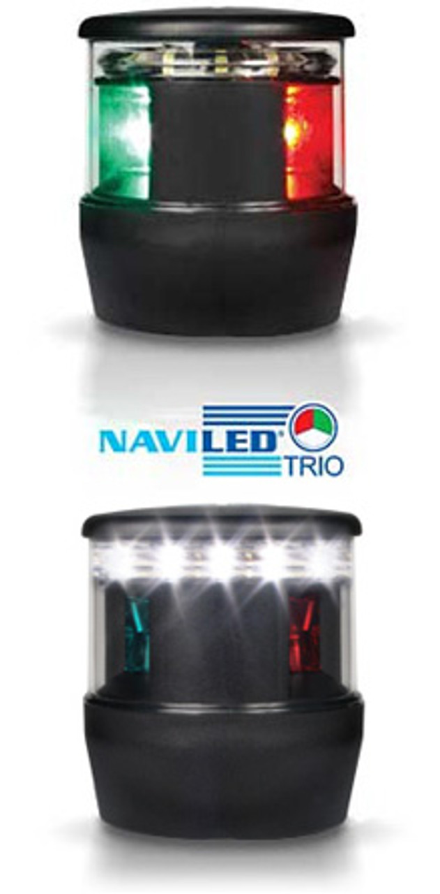 Led Tri Color With Anchor Lamp Hella Marine Tri Color Led