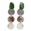 Metallic Ombre' Drop Earring