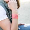 Watermelon Slit Cuff Bracelet