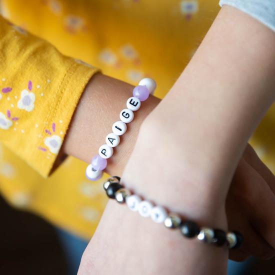 Kids Custom Beaded Bracelet