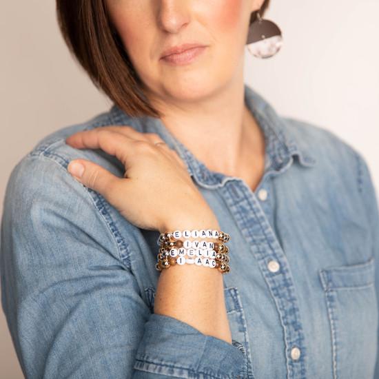 Adult Custom Beaded Bracelet
