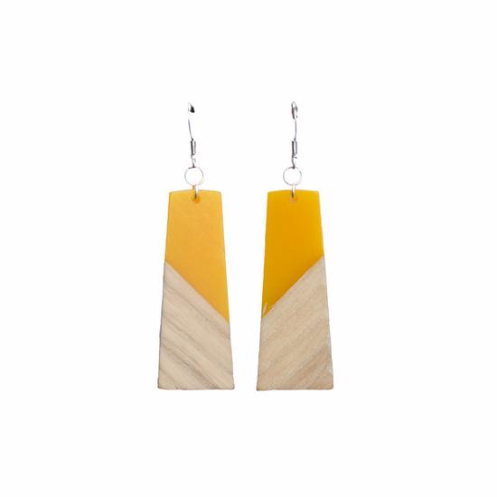 Mango & Wood Earring