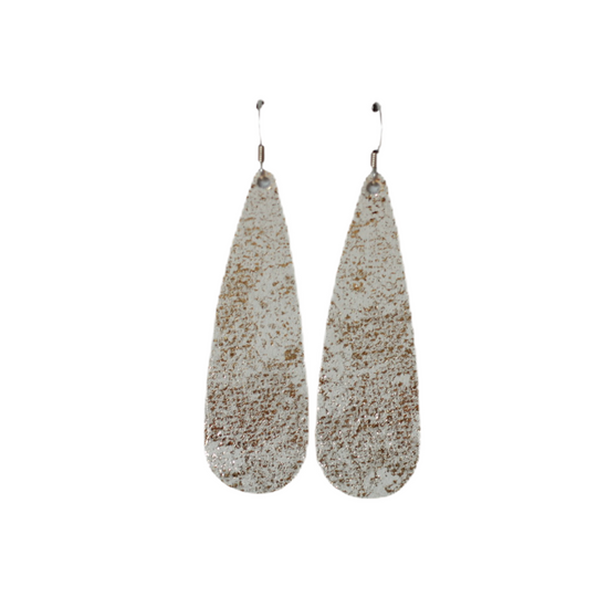 Tiramisu Tear Drop Earring