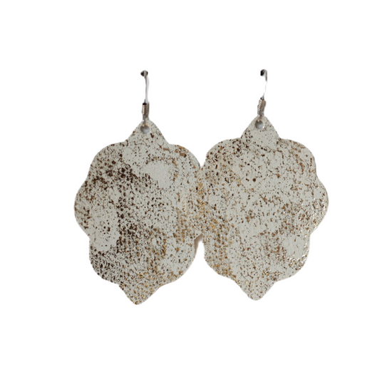 Tiramisu Small Leather Earring