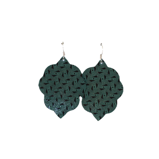 Juniper Small Leather Earring