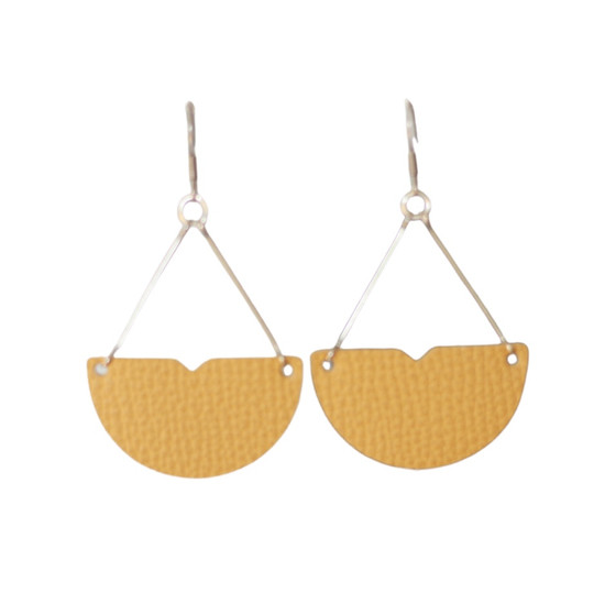 Mustard Divine Drop Earring
