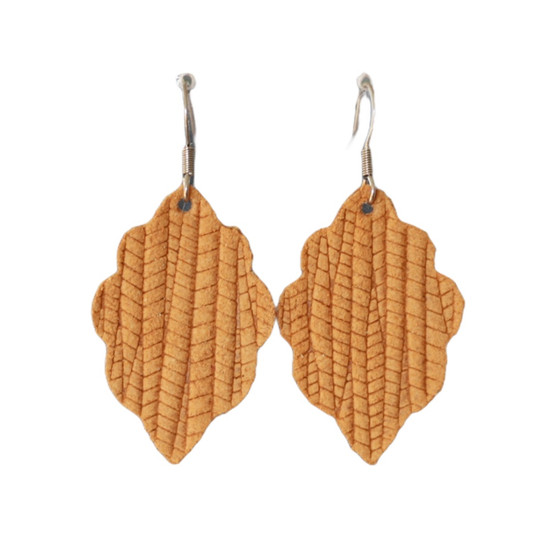Br��l��e Mini Leather Earring