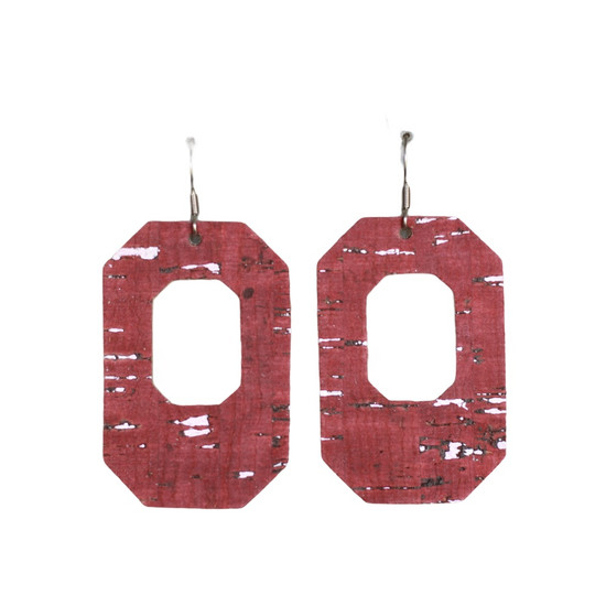 Berry New York Leather Earring