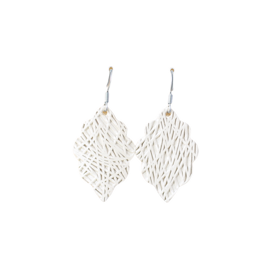 Dune Lux Signature Mini Leather Earring