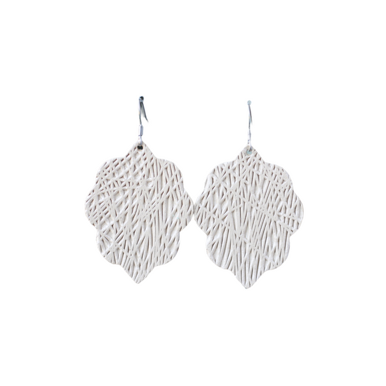 Dune Lux Small Leather Earring