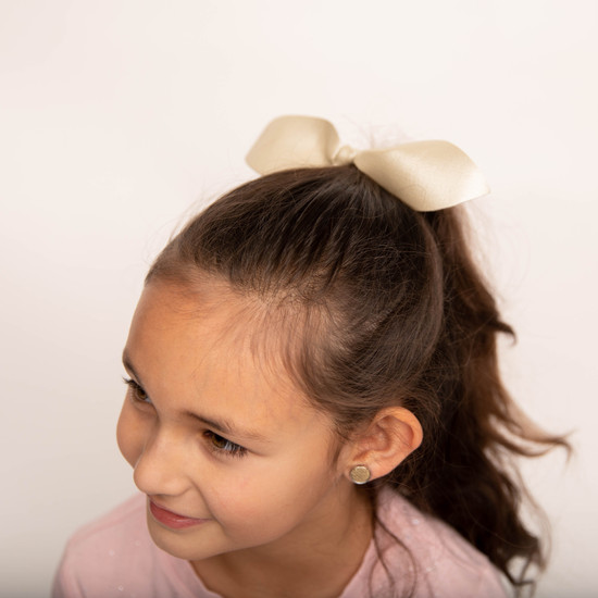 Leather Ponytail Hair Bow Collection