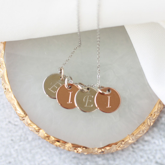 Initial Charm Necklace | FREE with $30 purchase