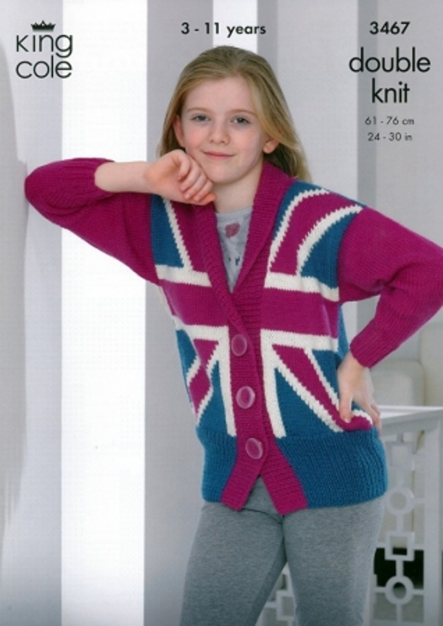 King Cole DK Double Knitting Pattern for Christmas Knit Jumpers Sweaters 3807
