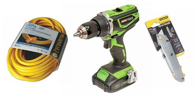 Tools & Specialty Equipment