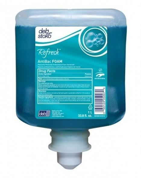 DEB ANT1L Refresh AntiBac FOAM 1L Cartridge