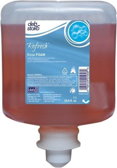 DEB RFW1L Refresh Rose FOAM 1L Each