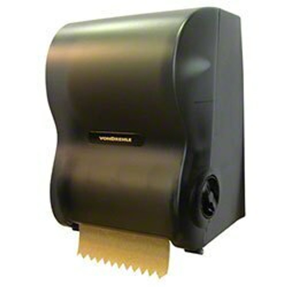 Von Drehle Hands-Free Electronic Dispenser, Fits 8 Inch Towels