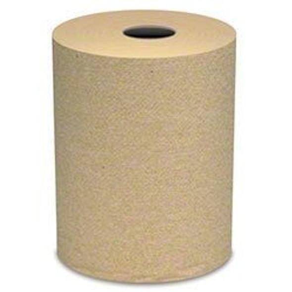 """Vondrehle 860N Preserve® Natural Hardwound Roll Towel -7.9"""" x 600' 12 rls. cs"""