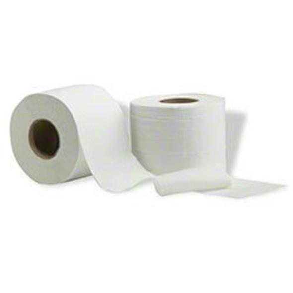 "Vondrehle RR600 Toilet Tissue - 4"" x 3.875"" 2 ply 48 rolls per cs."