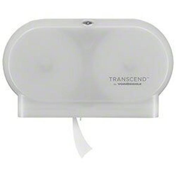 Vondrehle T200-W Transcend Micro Core Twin Dispenser, White