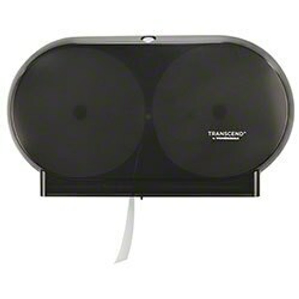 Von Drehle Transcend Twin Micro-Core Jumbo Dispenser, Black 1145