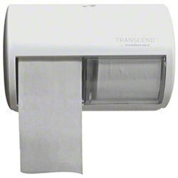 Von Drehle Transcend Side By Side Micro-Core Dispenser, White