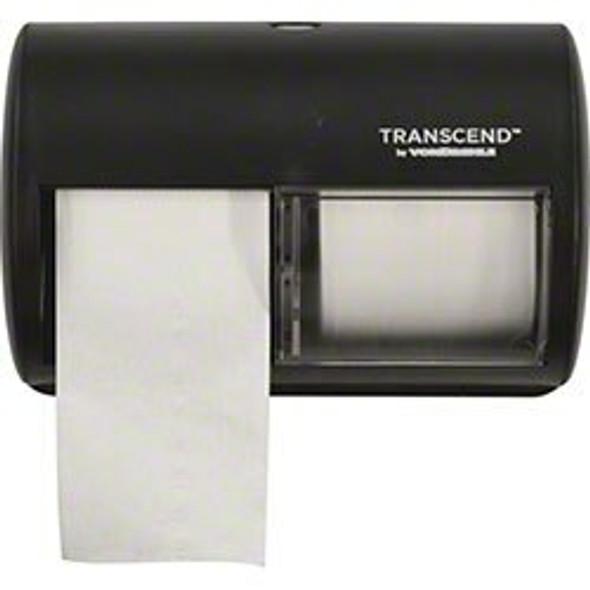 Von Drehle Transcend Side By Side Micro-Core Dispenser, Black