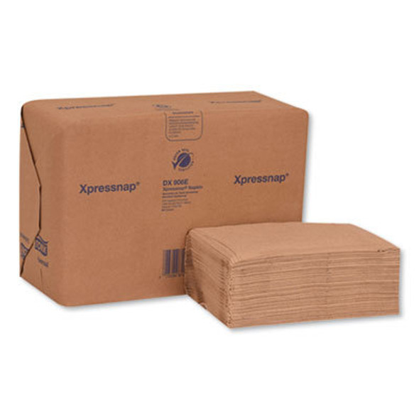SCA DX906E Xpresnap Interfold Dispenser Napkin, 2-Ply, 13 X 8.5, Natural 500 Package