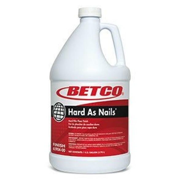 Betco 65904 Hard As Nails Floor Finish Gallons Each