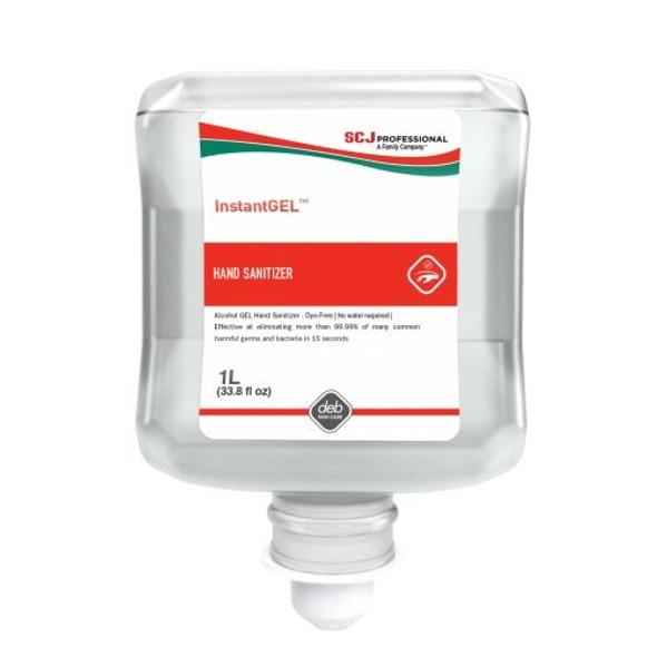 SC Johnson Gel Alcohol Hand Sanitizer 70%  1000ml, 6/cs