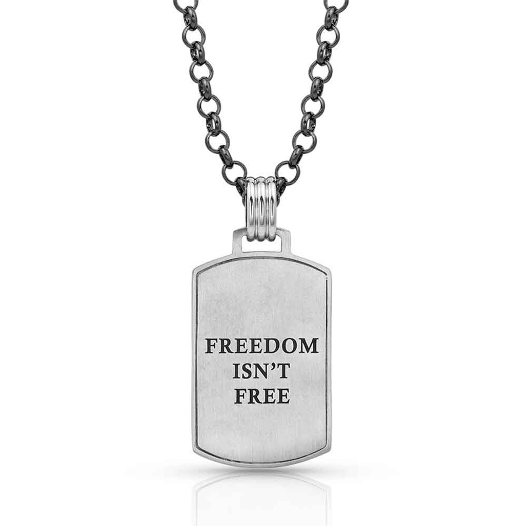 Independence Day Flag Necklace (05-003-1052)